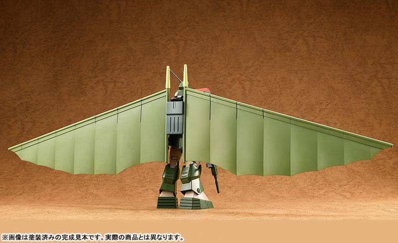 COMBAT ARMORS MAX25『ソルティック H8 ラウンドフェイサー ハングライダー装着タイプ』1/72 プラモデル-002