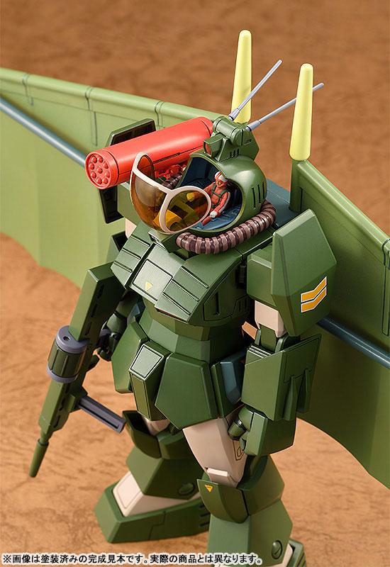 COMBAT ARMORS MAX25『ソルティック H8 ラウンドフェイサー ハングライダー装着タイプ』1/72 プラモデル-006