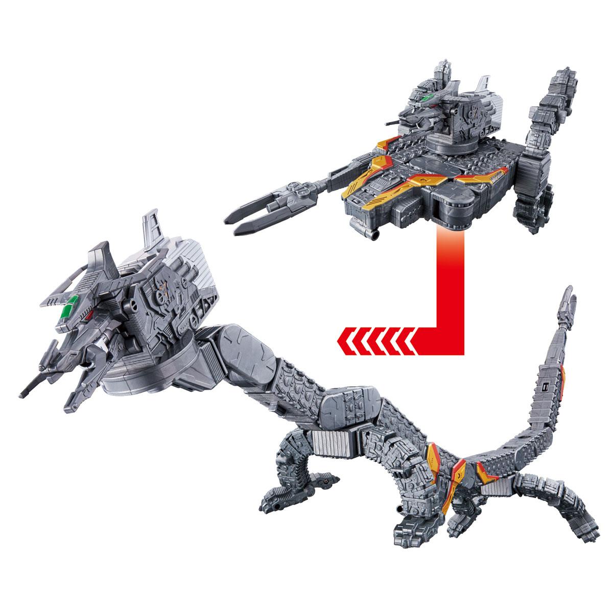 ウルトラマントリガー『渦巻変形 DXナースデッセイ号』可変可動フィギュア-003