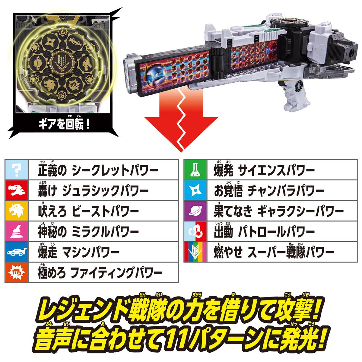 機界戦隊ゼンカイジャー『DXゼンリョクゼンカイキャノン』変身なりきり-006