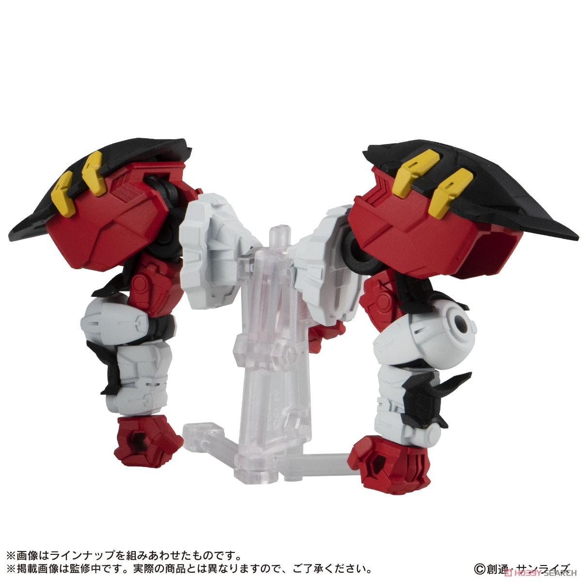 機動戦士ガンダム『MOBILE SUIT ENSEMBLE19』デフォルメ可動フィギュア 10個入りBOX-003