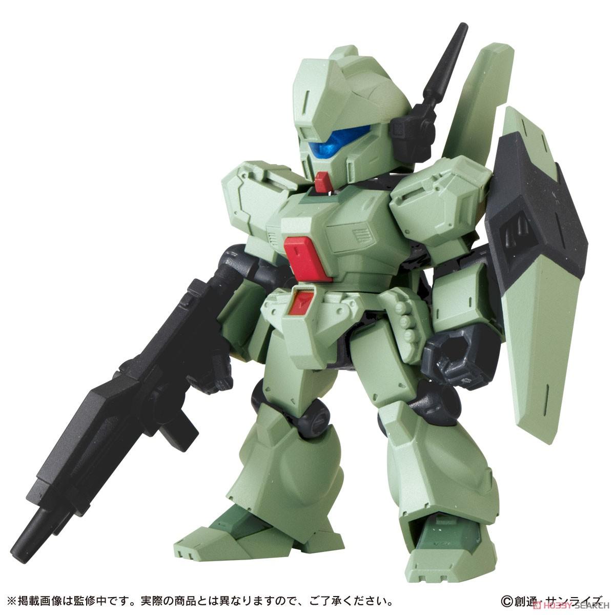 機動戦士ガンダム『MOBILE SUIT ENSEMBLE19』デフォルメ可動フィギュア 10個入りBOX-004
