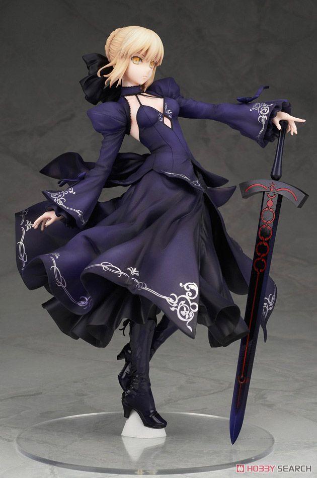 【再販】Fate/Grand Order『セイバー/アルトリア・ペンドラゴン[オルタ]ドレスVer.』1/7 完成品フィギュア-009