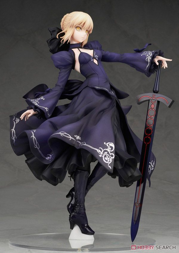 【再販】Fate/Grand Order『セイバー/アルトリア・ペンドラゴン[オルタ]ドレスVer.』1/7 完成品フィギュア-010
