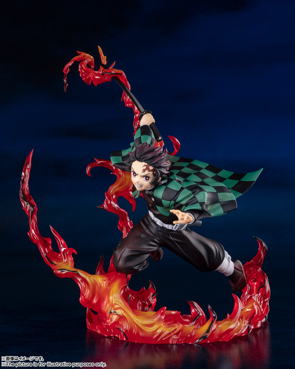 フィギュアーツZERO『竈門炭治郎 全集中』鬼滅の刃 完成品フィギュア-001