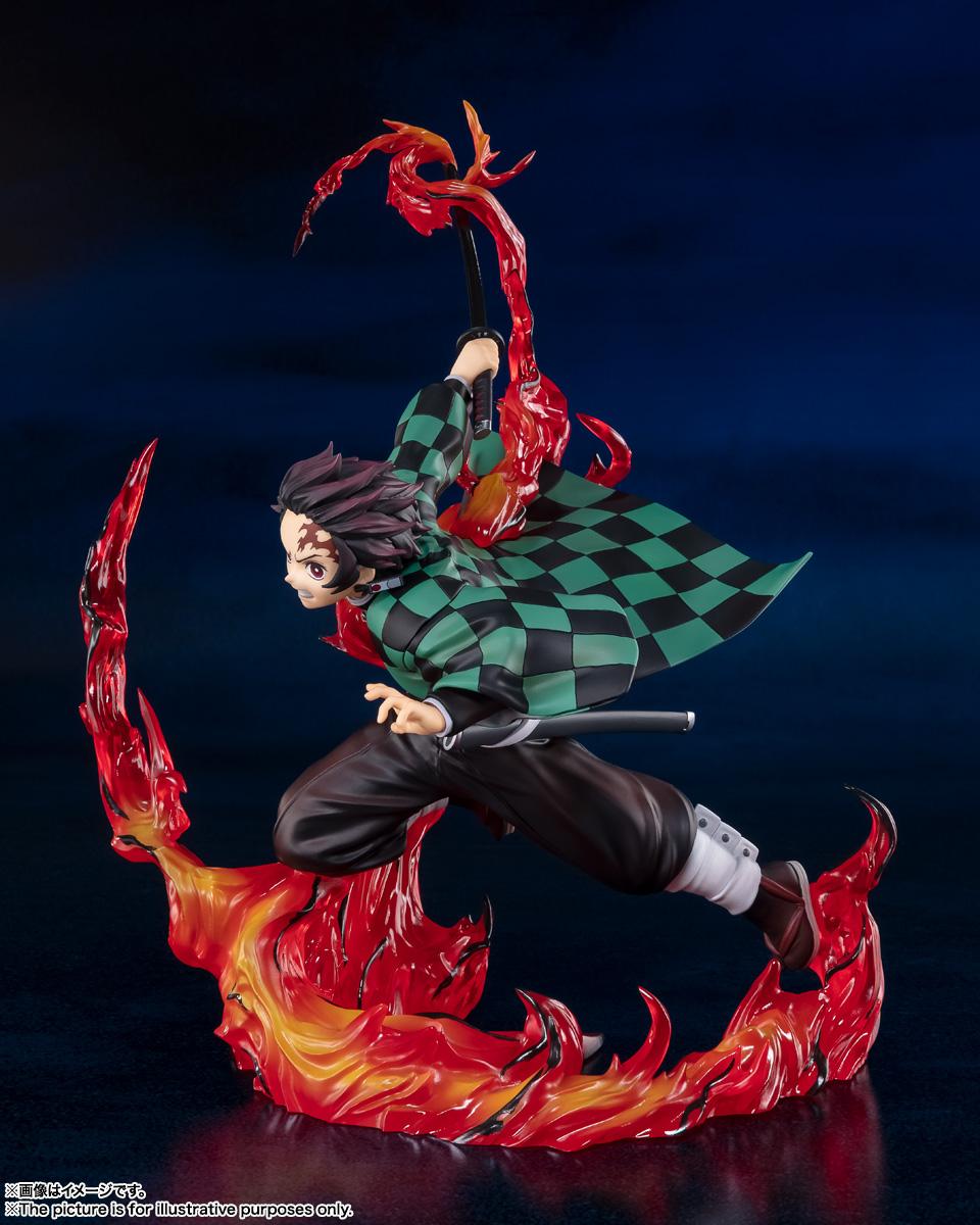 フィギュアーツZERO『竈門炭治郎 全集中』鬼滅の刃 完成品フィギュア-004