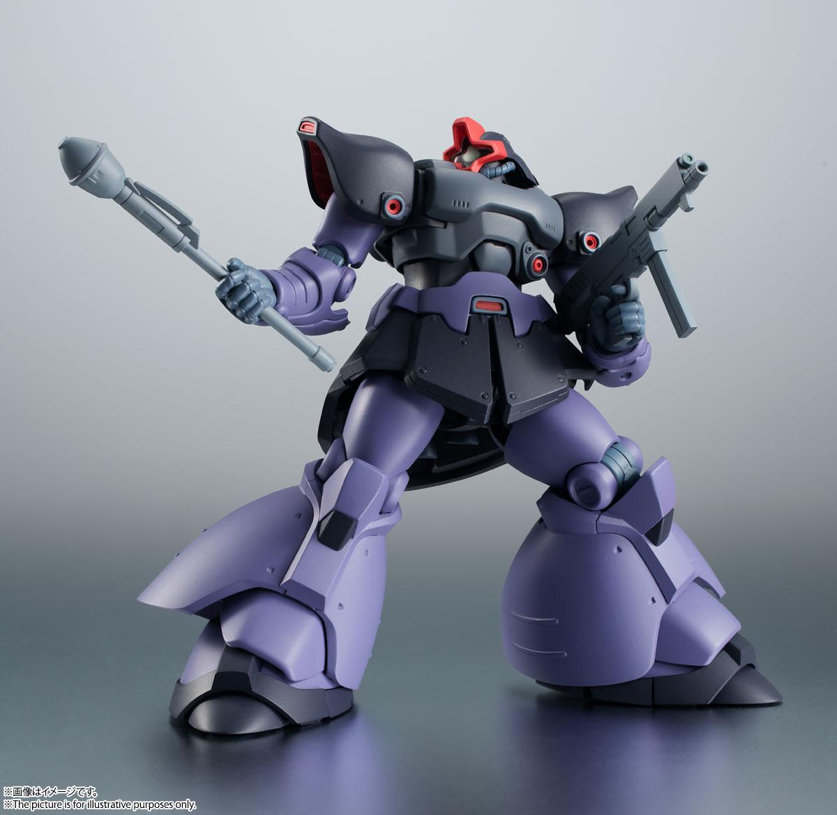 ROBOT魂〈SIDE MS〉『MS-09R-2 リック・ドムⅡ ver. A.N.I.M.E.』機動戦士ガンダム0083 可動フィギュア-004
