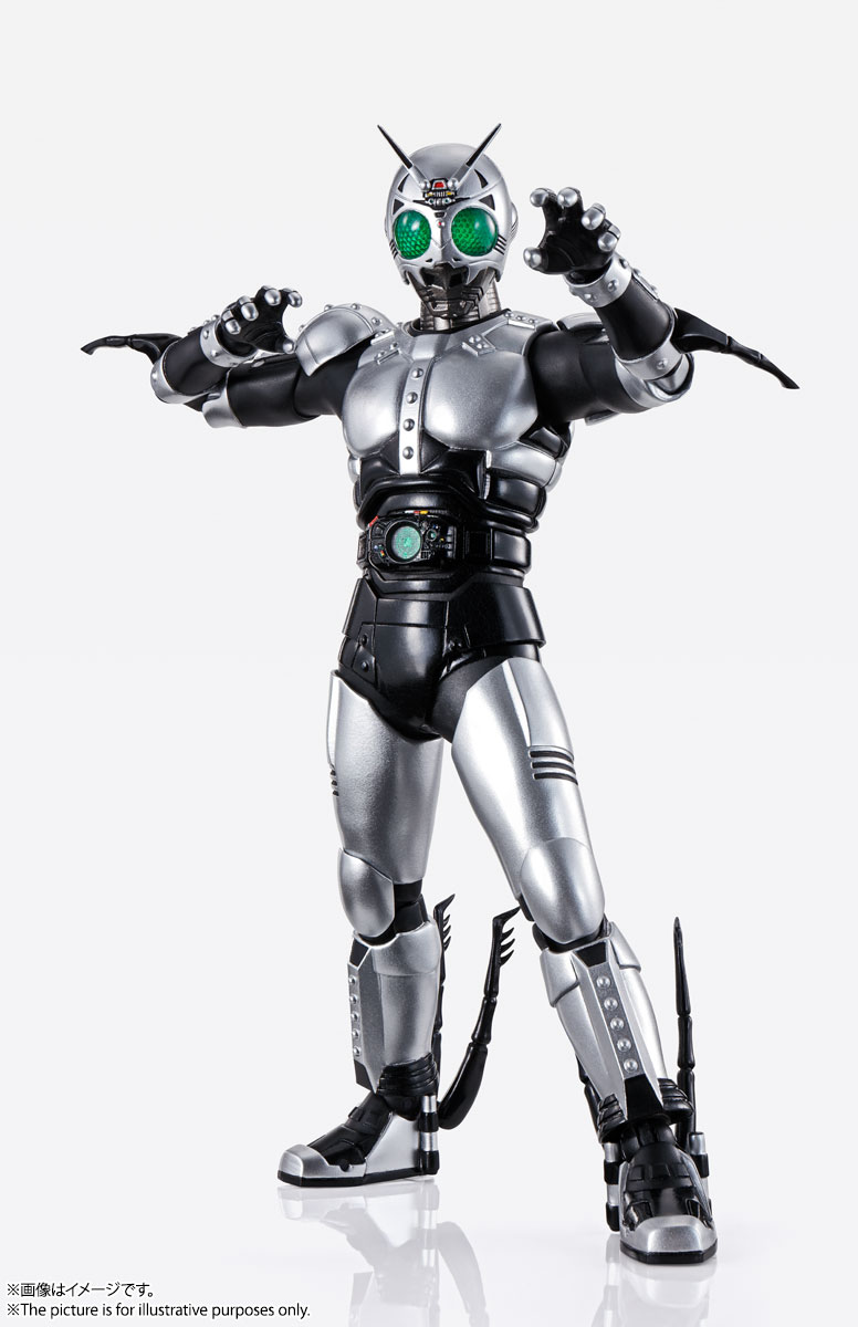 S.H.Figuarts(真骨彫製法)『シャドームーン』仮面ライダーBLACK 可動フィギュア-001