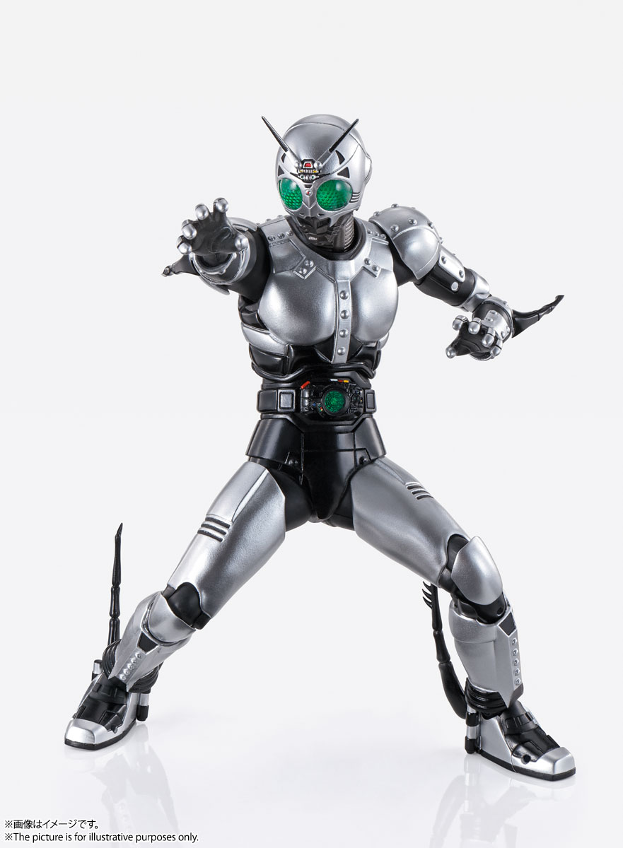 S.H.Figuarts(真骨彫製法)『シャドームーン』仮面ライダーBLACK 可動フィギュア-002