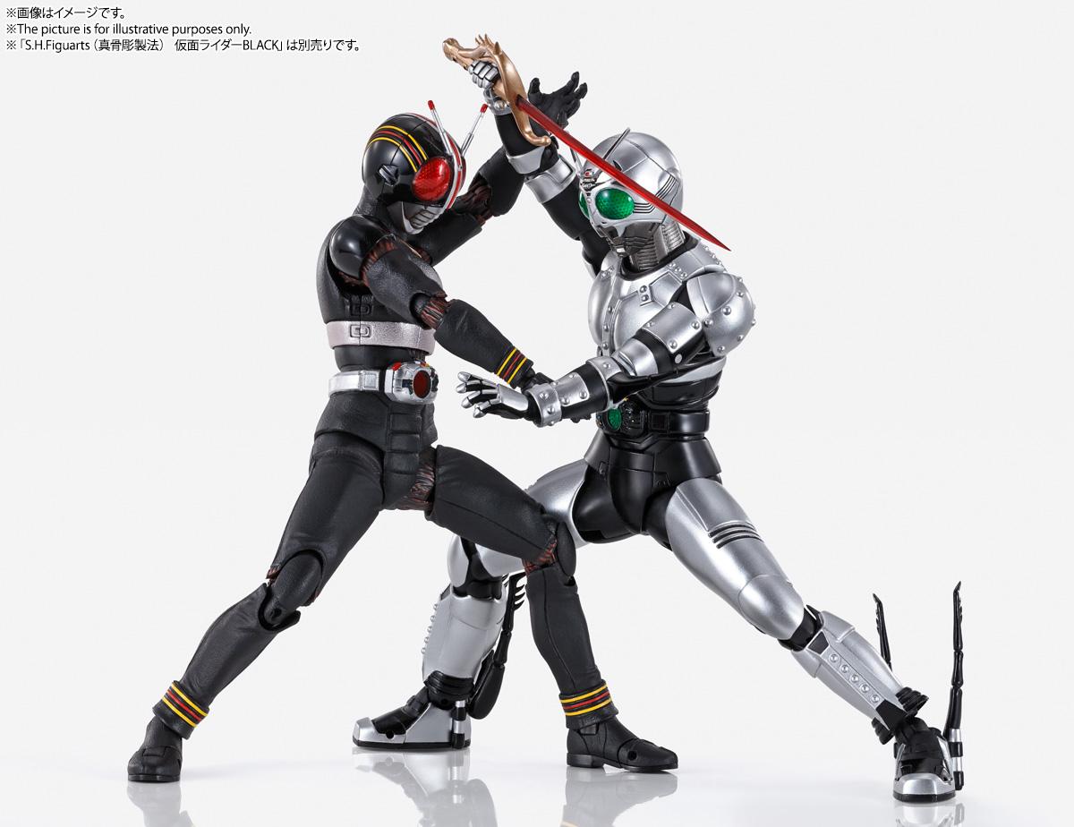 S.H.Figuarts(真骨彫製法)『シャドームーン』仮面ライダーBLACK 可動フィギュア-011