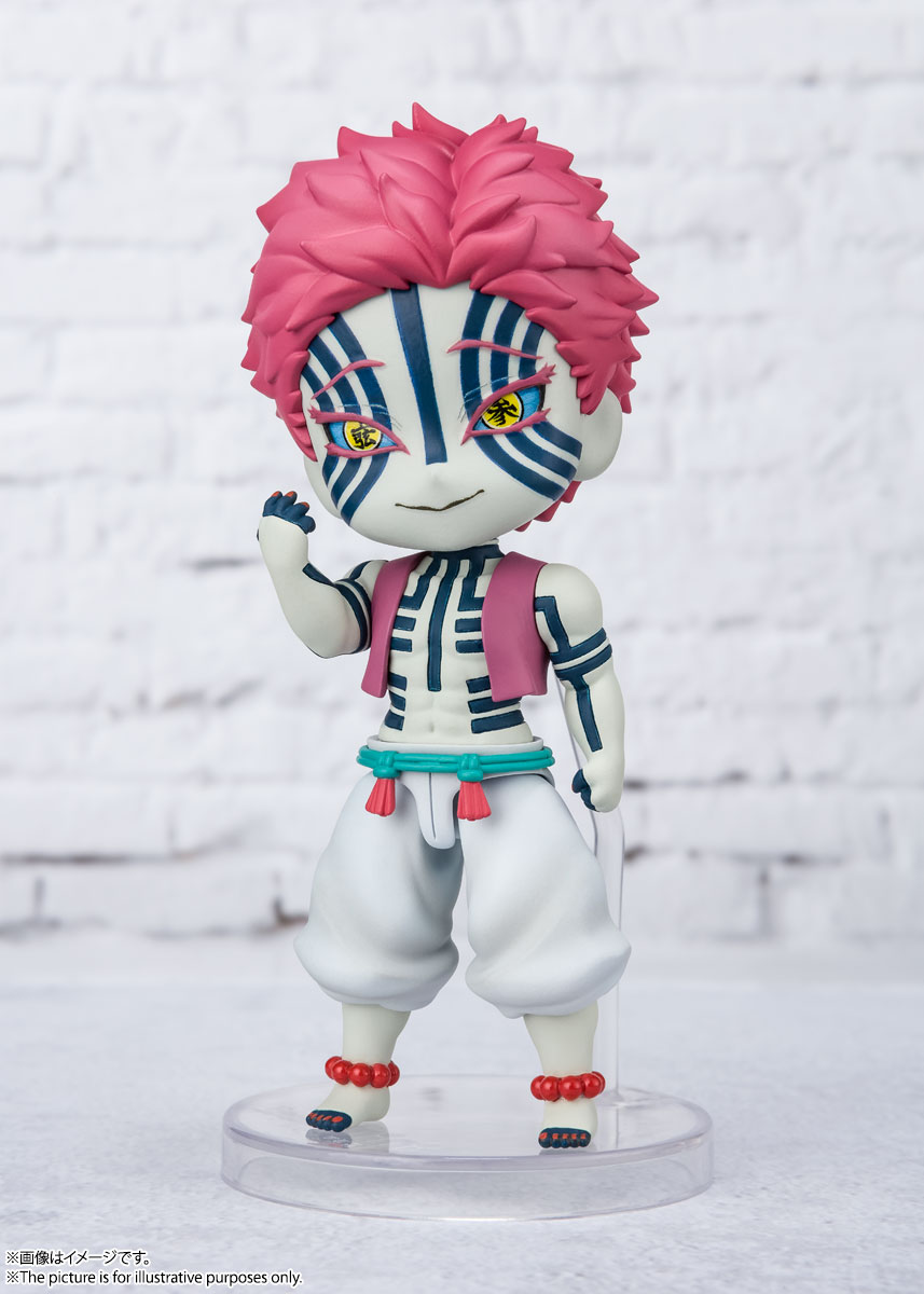 Figuarts mini『猗窩座』鬼滅の刃 デフォルメ可動フィギュア-002