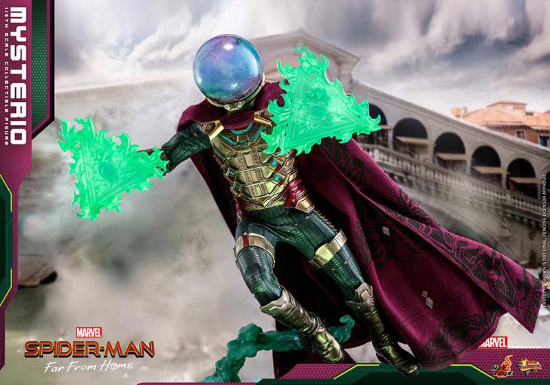 ムービー・マスターピース『ミステリオ』スパイダーマン:ファー・フロム・ホーム 1/6 可動フィギュア-009