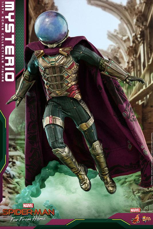 ムービー・マスターピース『ミステリオ』スパイダーマン:ファー・フロム・ホーム 1/6 可動フィギュア-012