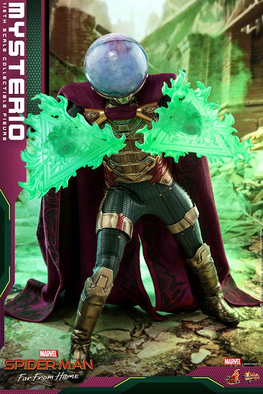 ムービー・マスターピース『ミステリオ』スパイダーマン:ファー・フロム・ホーム 1/6 可動フィギュア-014