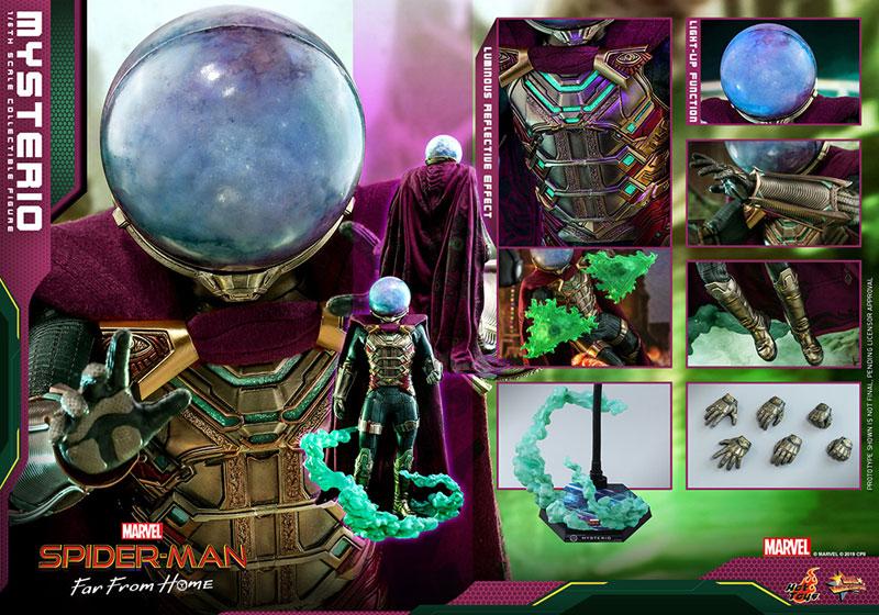 ムービー・マスターピース『ミステリオ』スパイダーマン:ファー・フロム・ホーム 1/6 可動フィギュア-020