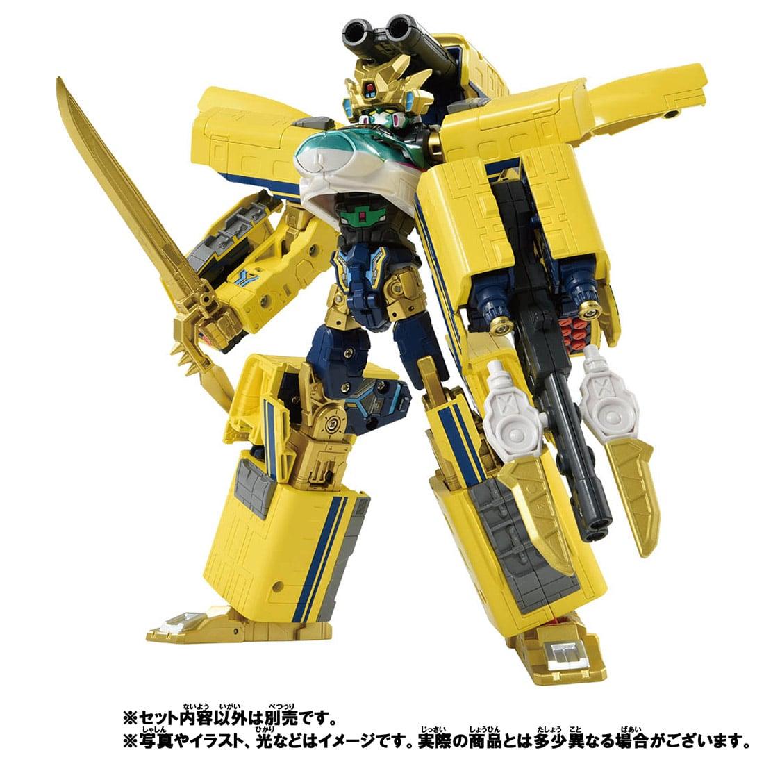新幹線変形ロボ シンカリオンZ『シンカリオンZ ドクターイエロー』可変合体プラレール-009