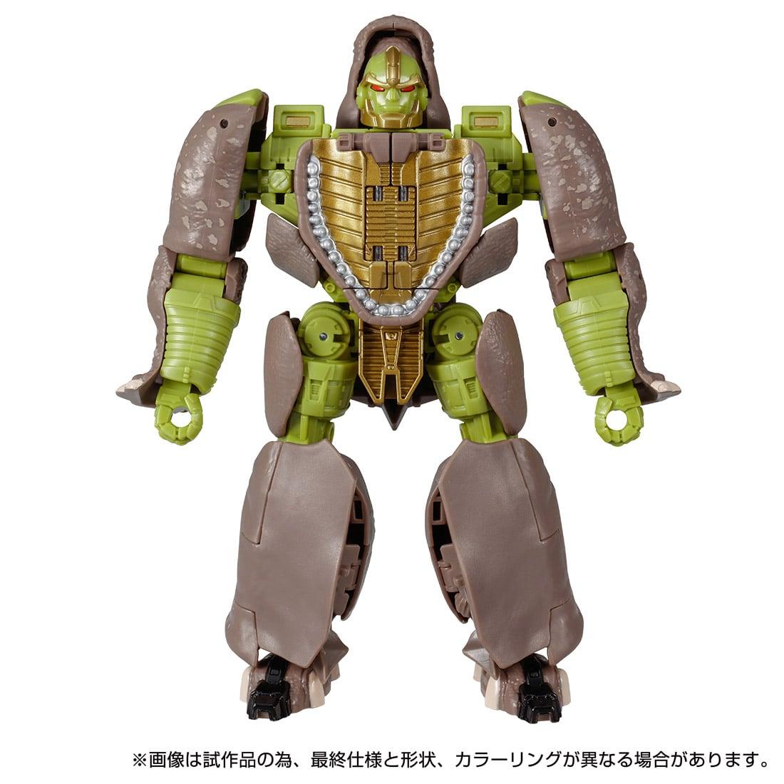 トランスフォーマー キングダム『KD-13 ライノックス』可変可動フィギュア-004