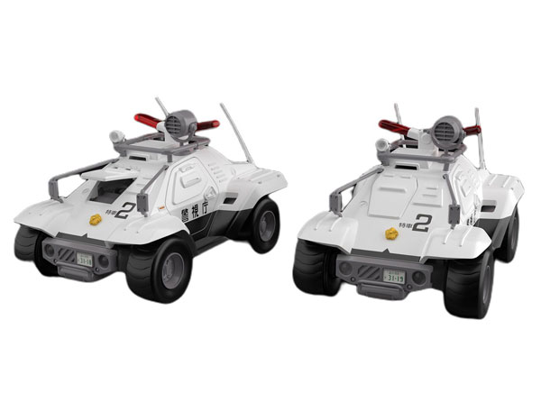 ACKS No.MP-02『98式特型指揮車 2台セット』機動警察パトレイバー 1/43 プラモデル