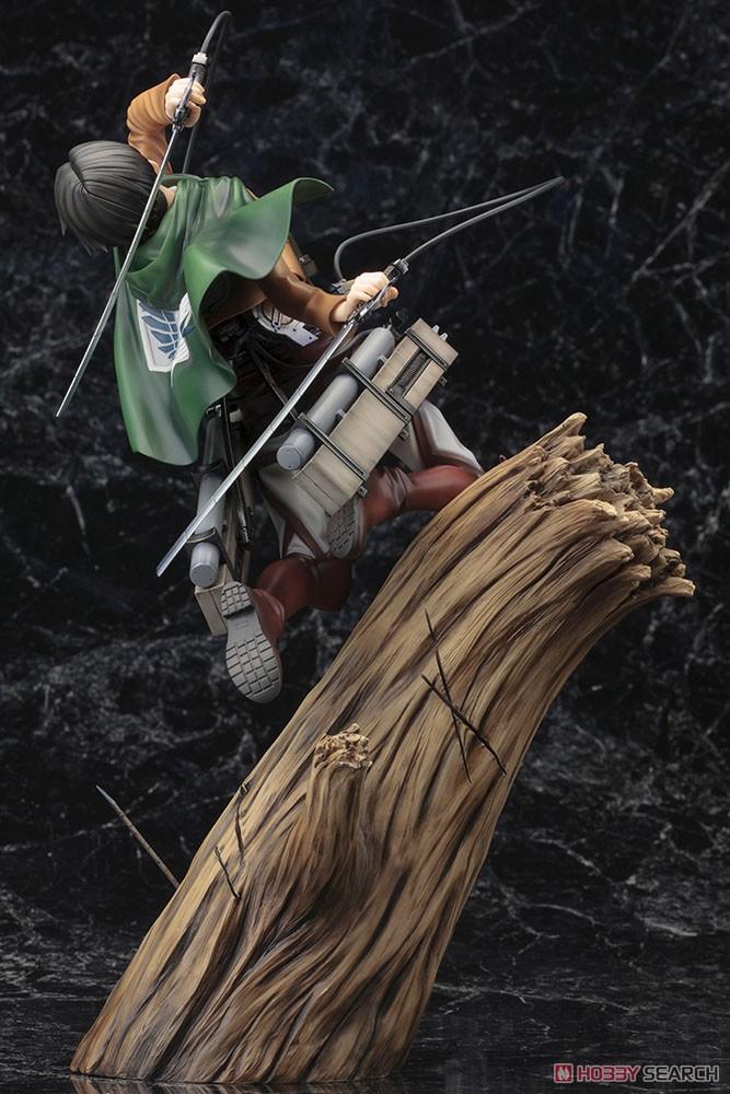 【再販】ARTFX J『リヴァイ リニューアルパッケージver.』進撃の巨人 1/8 完成品フィギュア-003