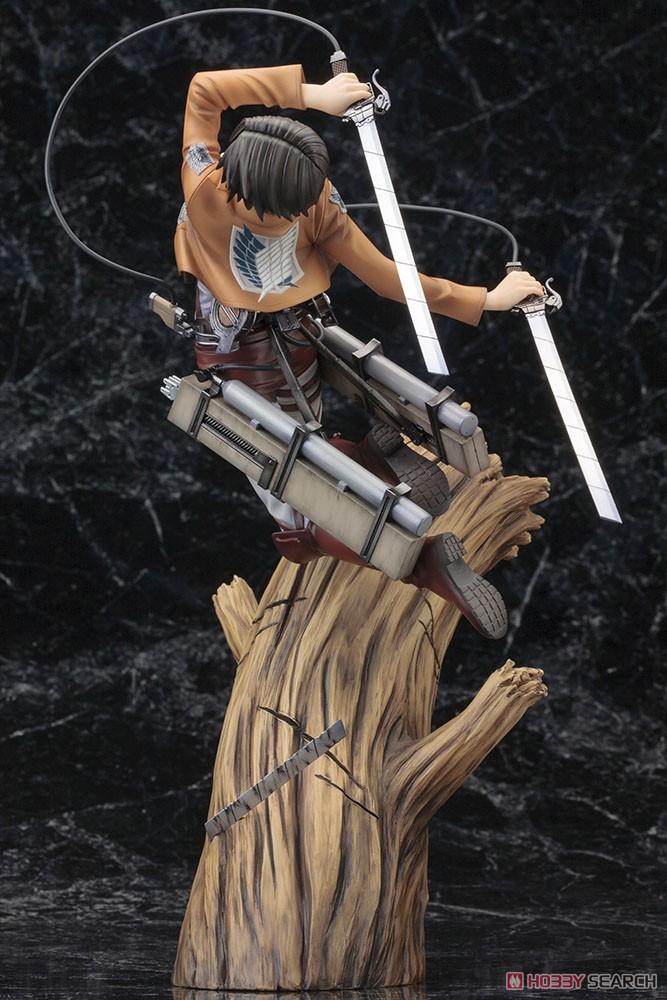 【再販】ARTFX J『リヴァイ リニューアルパッケージver.』進撃の巨人 1/8 完成品フィギュア-011