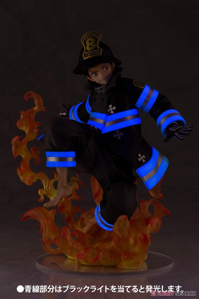 【再販】ARTFX J『環古達』炎炎ノ消防隊 1/8 完成品フィギュア-019