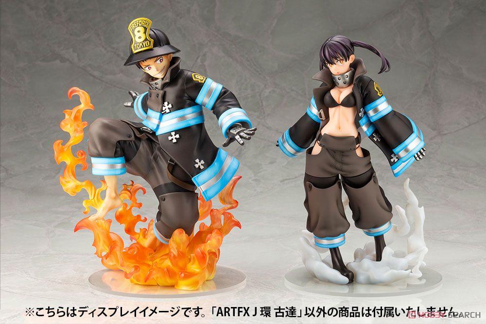 【再販】ARTFX J『環古達』炎炎ノ消防隊 1/8 完成品フィギュア-021