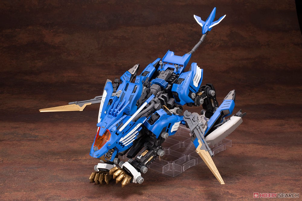 【再販】HMM『RZ-028 ブレードライガーAB』ゾイド 1/72 プラモデル-006