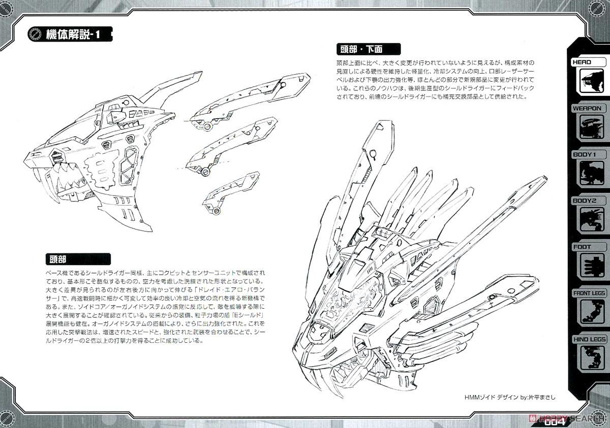 【再販】HMM『RZ-028 ブレードライガーAB』ゾイド 1/72 プラモデル-031
