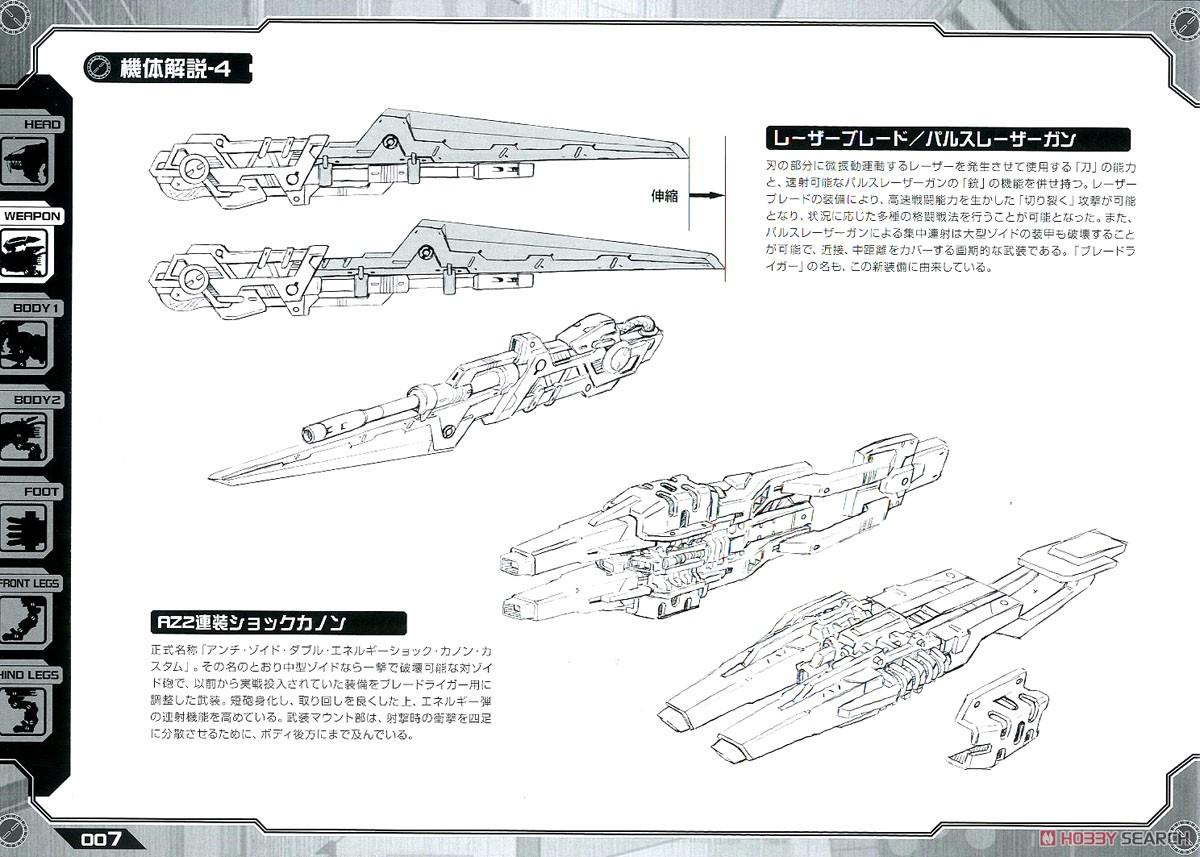 【再販】HMM『RZ-028 ブレードライガーAB』ゾイド 1/72 プラモデル-034