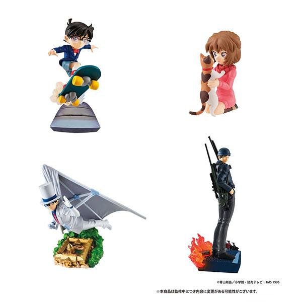 プチラマシリーズ『名探偵コナン SECRET SCENE BOX Vol.1』4個入りBOX