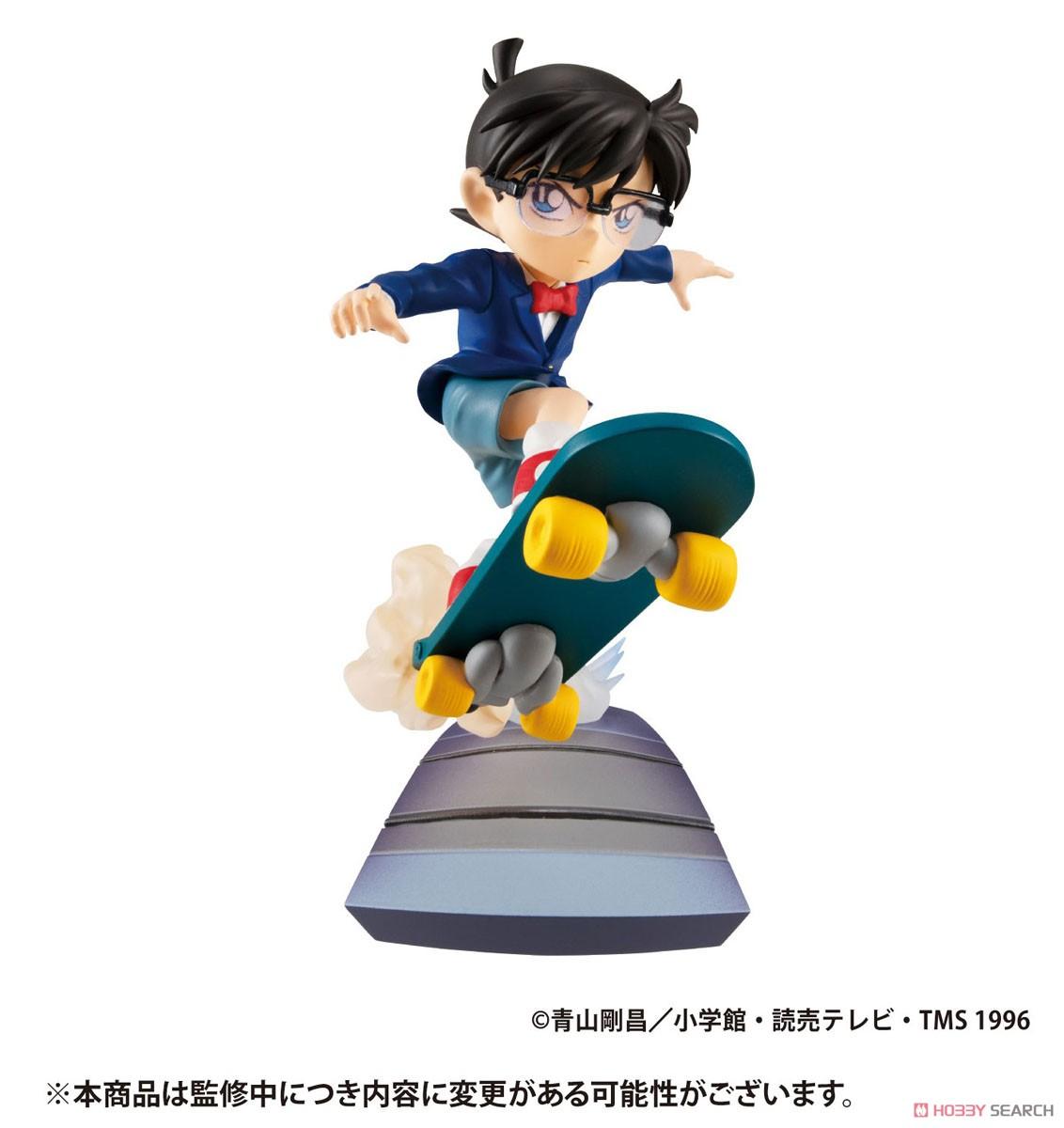 プチラマシリーズ『名探偵コナン SECRET SCENE BOX Vol.1』4個入りBOX-001