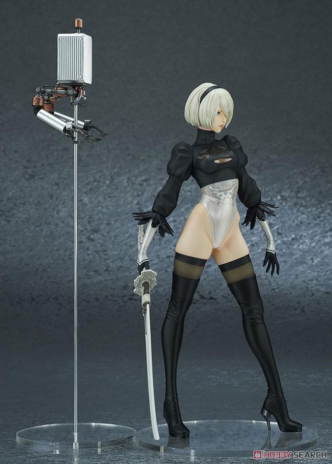 【再販】NieR:Automata『2B(ヨルハ 二号 B型)DX版』完成品フィギュア-008