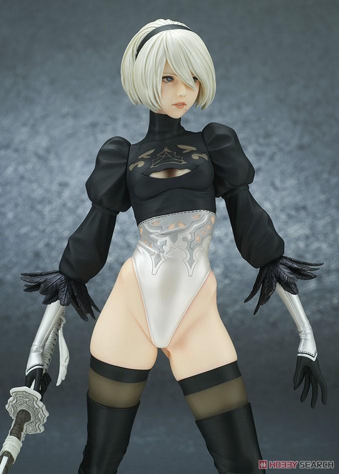 【再販】NieR:Automata『2B(ヨルハ 二号 B型)DX版』完成品フィギュア-010