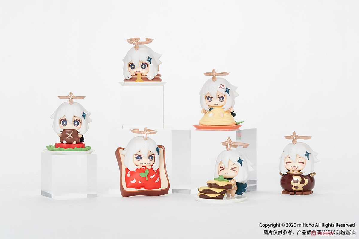 原神『「非常食じゃないから!」パイモン マスコットフィギュアコレクション』6個入りBOX-001