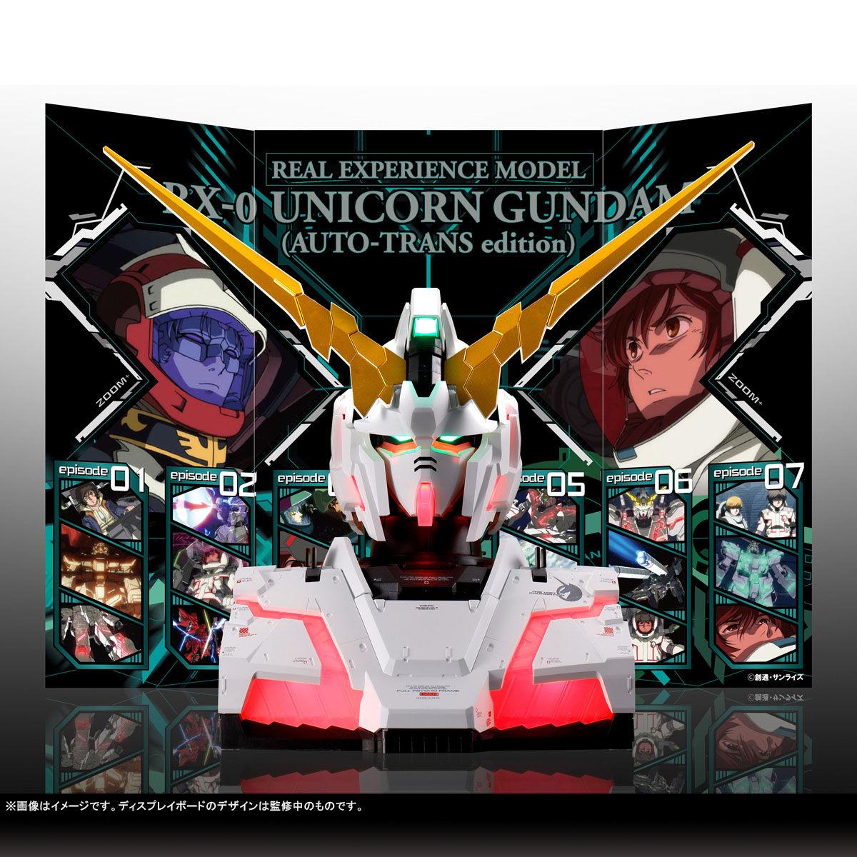 【限定販売】REAL EXPERIENCE MODEL『RX-0 ユニコーンガンダム(AUTO-TRANS edition)』ガンダムUC プラモデル-009