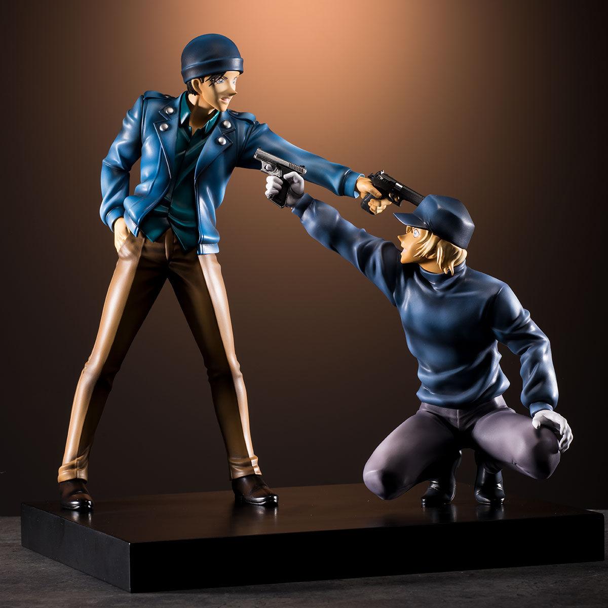 【限定販売】名探偵コナン『DETECTIVE VOICE FIGURE 赤井秀一VSバーボン』完成品フィギュア-002