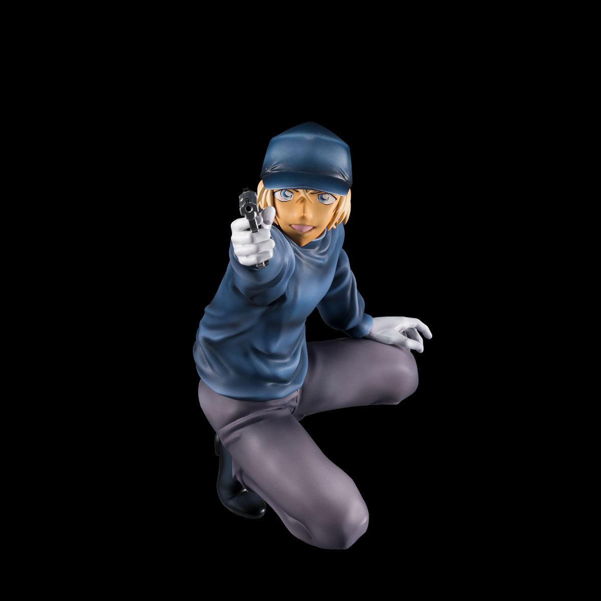 【限定販売】名探偵コナン『DETECTIVE VOICE FIGURE 赤井秀一VSバーボン』完成品フィギュア-008