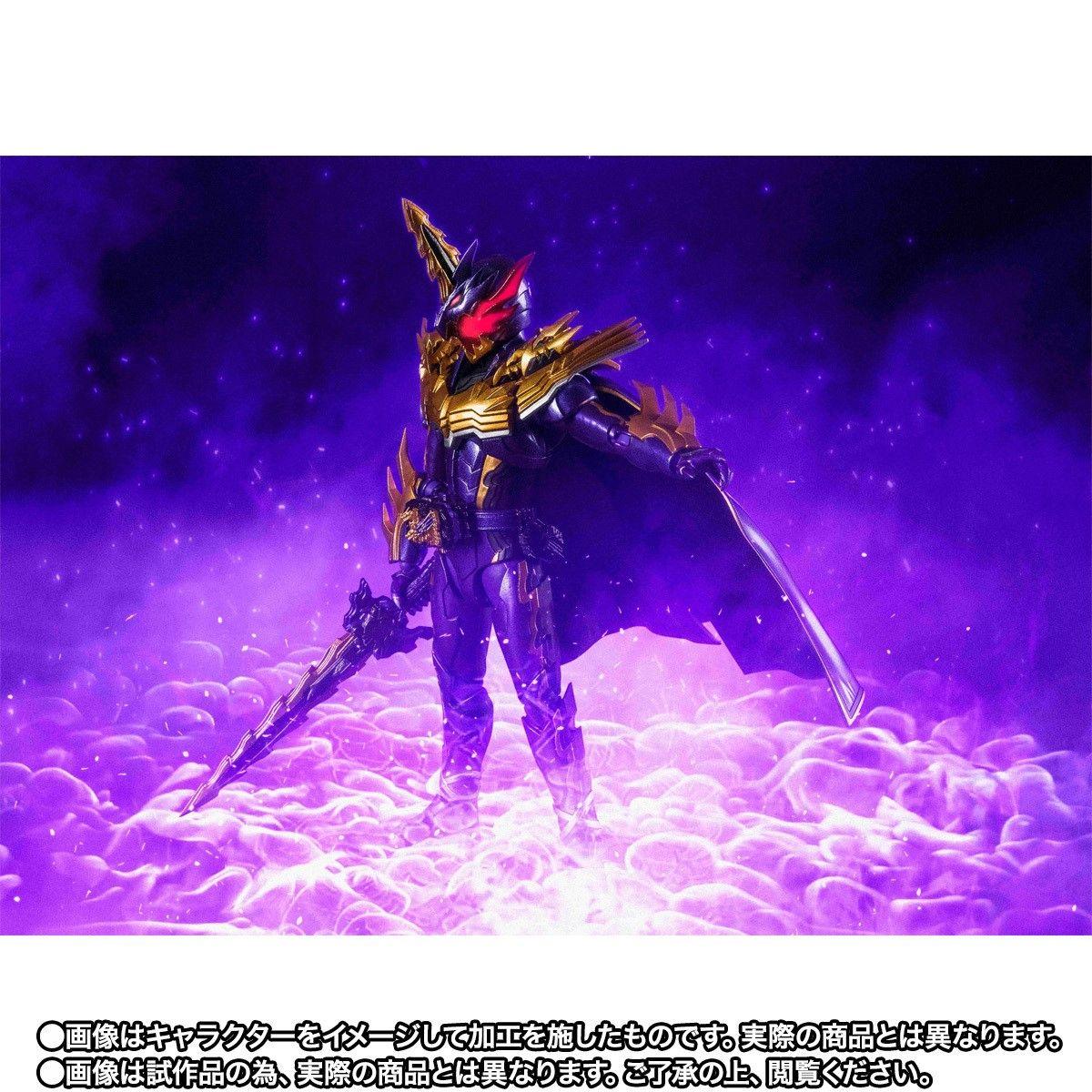 【限定販売】S.H.Figuarts『仮面ライダーカリバー ジャオウドラゴン』可動フィギュア-006