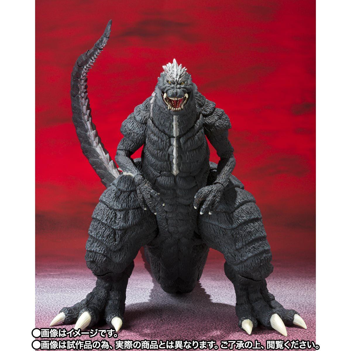 【限定販売】S.H.MonsterArts『ゴジラウルティマ』ゴジラS.P 可動フィギュア-002