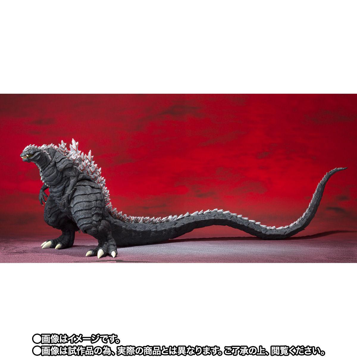 【限定販売】S.H.MonsterArts『ゴジラウルティマ』ゴジラS.P 可動フィギュア-003