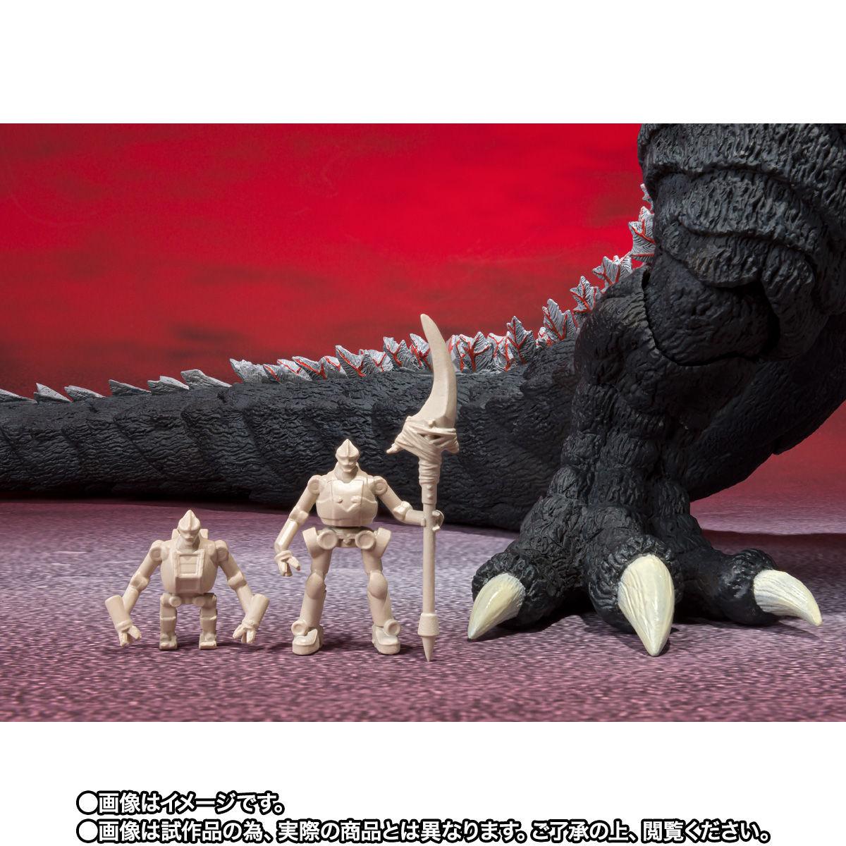 【限定販売】S.H.MonsterArts『ゴジラウルティマ』ゴジラS.P 可動フィギュア-009