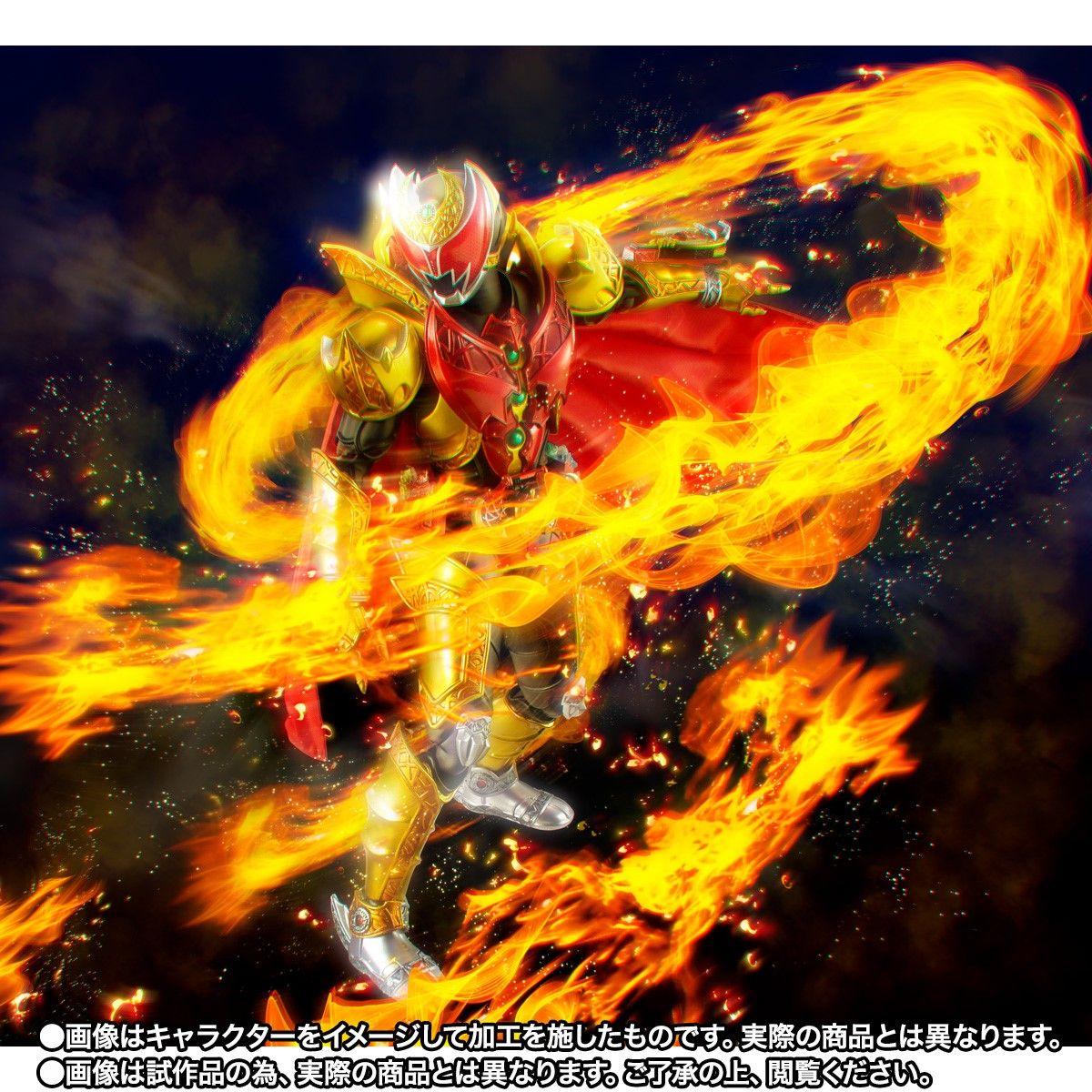 S.H.Figuarts(真骨彫製法)『仮面ライダーキバ エンペラーフォーム』可動フィギュア-010