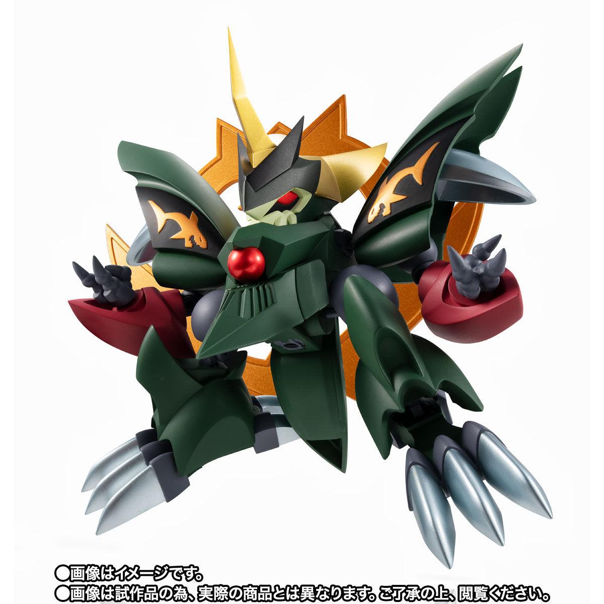 【限定販売】NXEDGE STYLE[MASHIN UNIT]『真・夏鬼丸』魔神英雄伝ワタル2 可動フィギュア-008