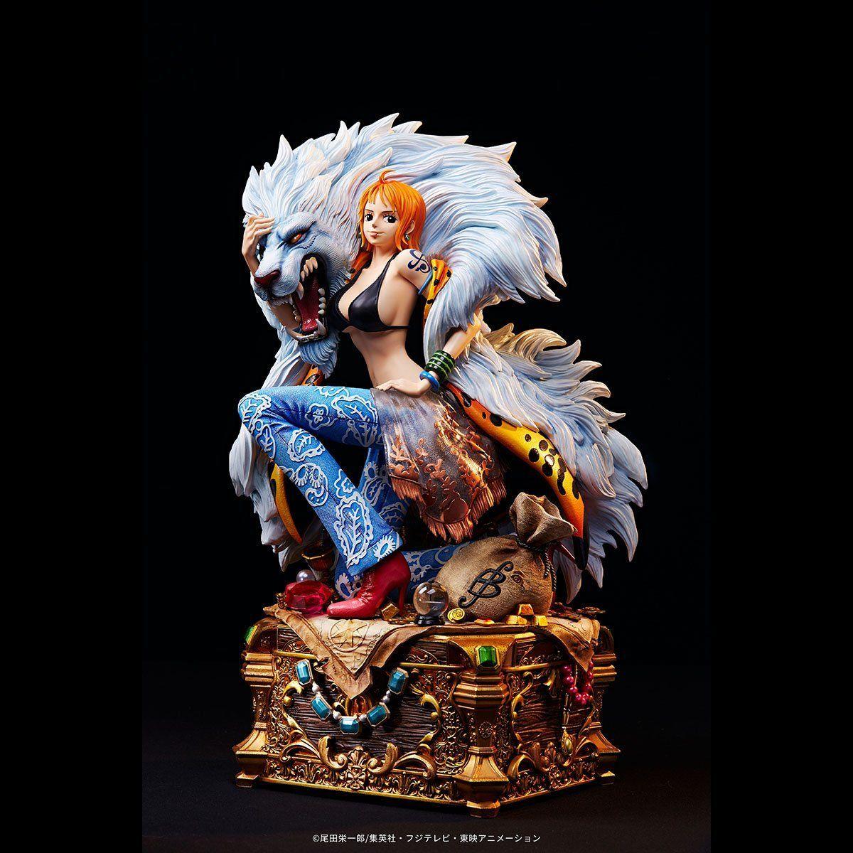 【限定販売】ワンピース ログコレクション 大型スタチューシリーズ『ナミ』完成品フィギュア-003