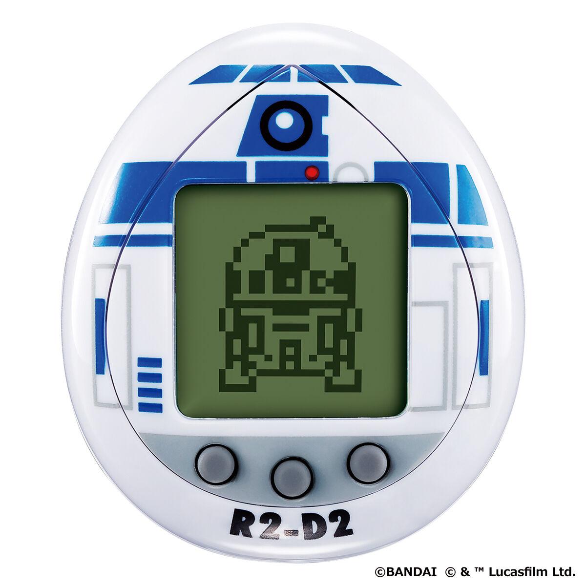 スターウォーズ『R2-D2 TAMAGOTCHI Classic color ver.』たまごっちnano-001