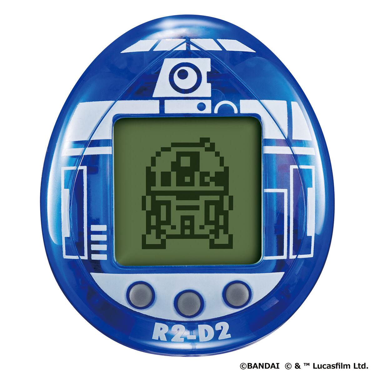 スターウォーズ『R2-D2 TAMAGOTCHI Classic color ver.』たまごっちnano-005