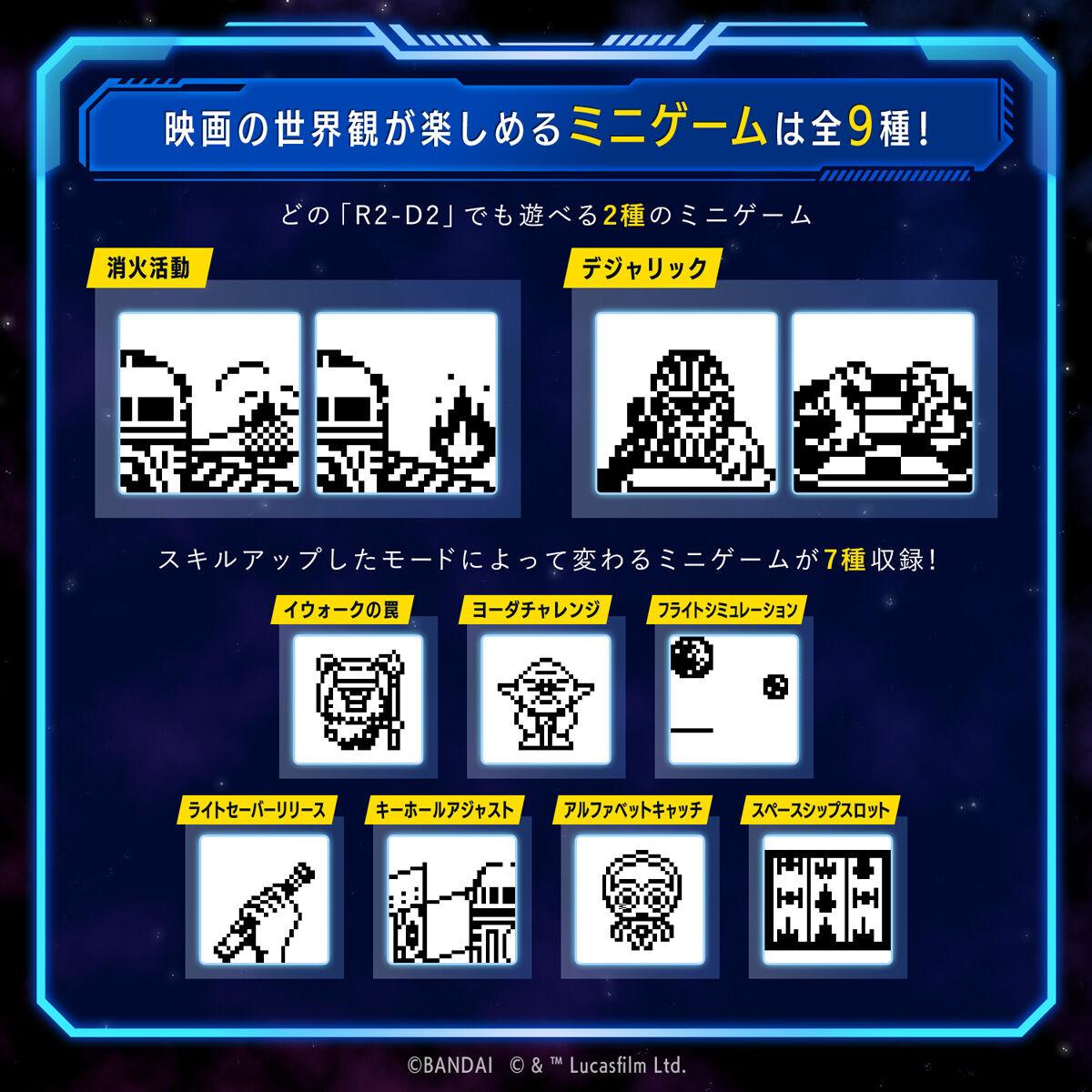 スターウォーズ『R2-D2 TAMAGOTCHI Classic color ver.』たまごっちnano-011