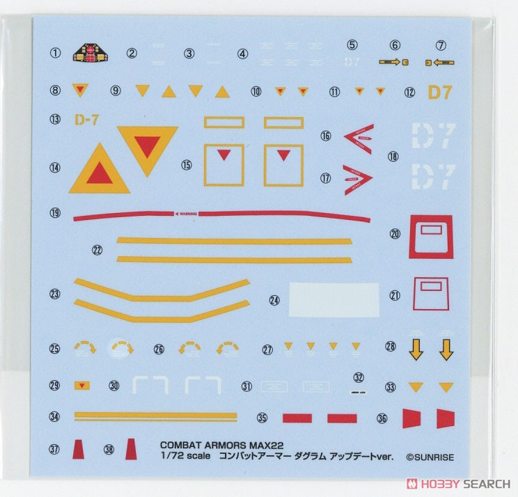 【再販】COMBAT ARMORS MAX22『コンバットアーマー ダグラム アップデートver.』1/72 プラモデル-011