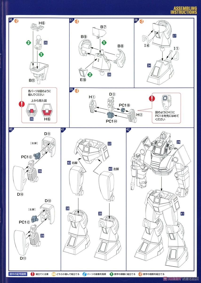 【再販】COMBAT ARMORS MAX22『コンバットアーマー ダグラム アップデートver.』1/72 プラモデル-020