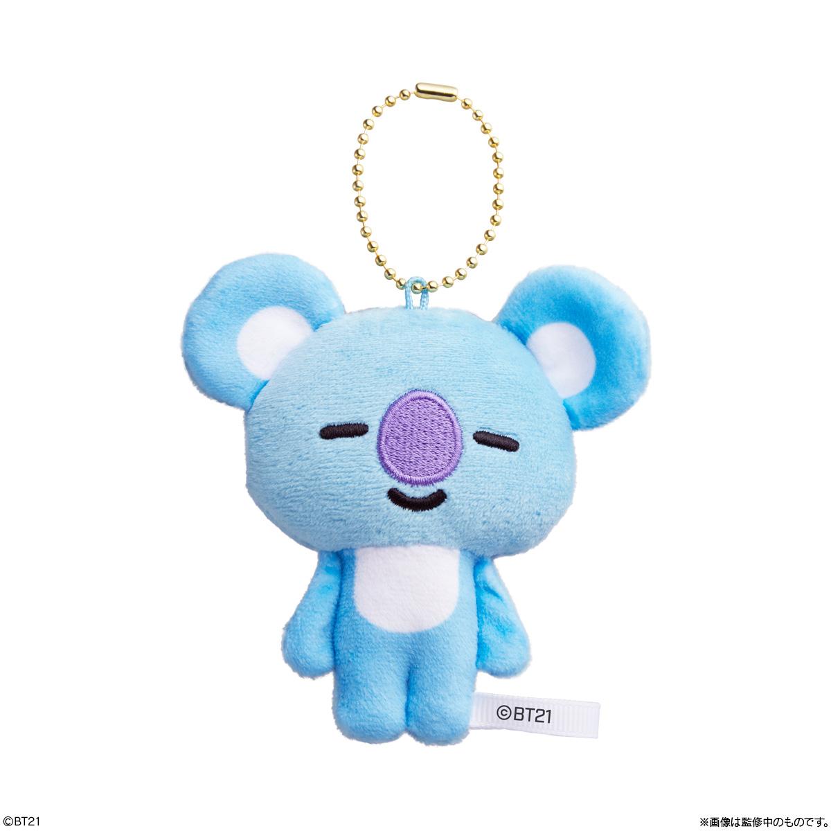 【食玩】BT21『BT21 Fuwa Fuwa Mascot★』10個入りBOX-007
